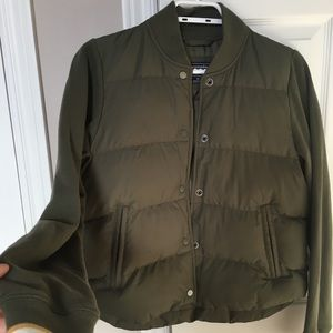 abercrombie and fitch utility jacket  xs